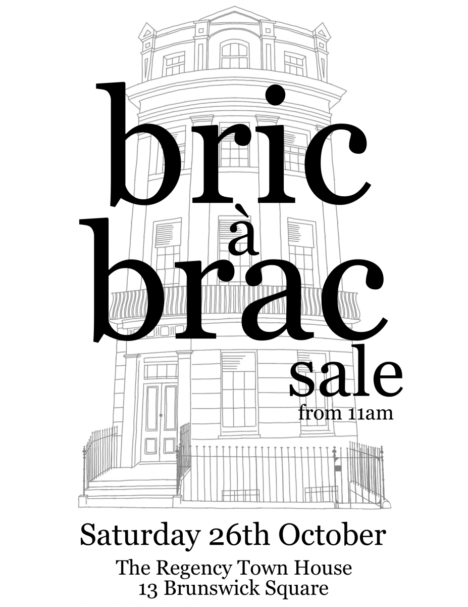 Bric a Brac sale Saturday 26th October from 11am