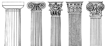 Different syles of columns