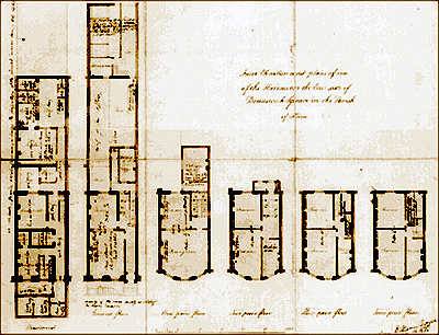 Drawing of house plan