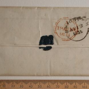 Bevan letter - 18 Aug 1831 - back