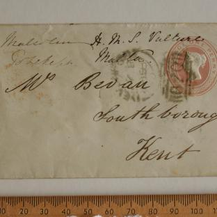Bevan letter - 9 Jul 1856 - front