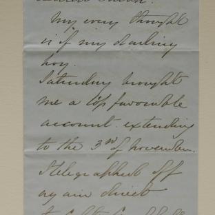 Bevan letter - 18 Nov 1856 - page one