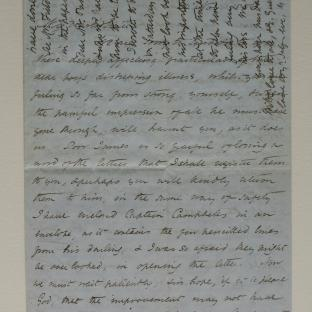 Bevan letter - 24 Nov 1856 - page one