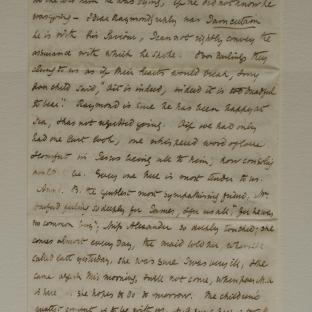 Bevan letter - 6 Dec 1856 - first letter page four