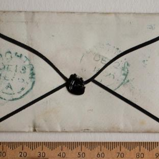 Bevan letter - 12 Dec 1856 - back