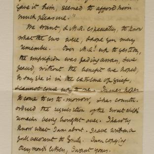 Bevan letter - 12 Dec 1856 - page four