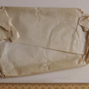 Bevan letter - 15 Dec 1856 - back