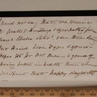 Bevan letter - 16 Dec 1856 - page seven