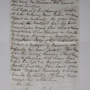 bevan letter - 24 Dec 1856 - page four